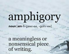 Amphigory