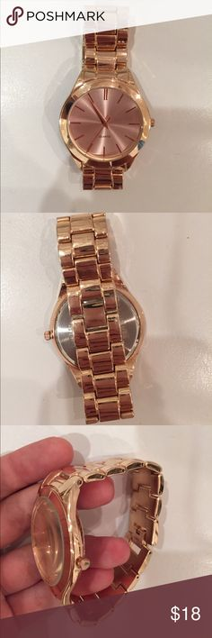 Rose gold watch Perfect condition brand new Accessories Watches
