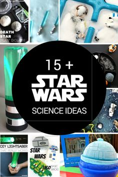 Star Wars Science and STEM ideas for kids