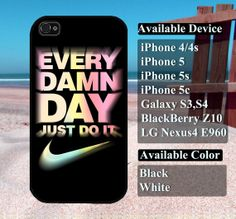 colorful just do it case  iPhone 4/4s iPhone5 by vallenshop, $13.50