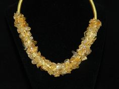 Check out this item in my Etsy shop https://www.etsy.com/listing/286536943/ft538-citrine-choker-20