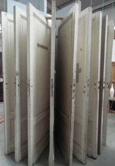 doors white paint