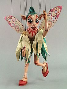 """International Puppetry Museum  """"Sprite"""" by Donald Cordry"""