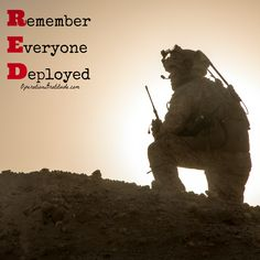 Support and thank our troops and veterans EVERY day, and on Fridays wear RED to…