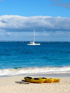 Sailing or kayaking - what decisions! (Alexandra Resort, Turks & Caicos)