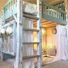 Impressive Tween Girl Bedroom Decorating Ideas is part of Girls bedroom Loft - There seems to be a time in every girl's life when they want to redecorate their bedroom It would be one thing if… Cute Bedroom Ideas, Cute Room Decor, Girl Bedroom Designs, Awesome Bedrooms, Cool Rooms, Bed Ideas, Small Rooms, Decor Ideas, Loft Bed Room Ideas