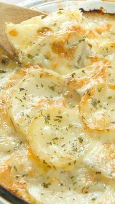 Gluten Free Loaded Potato Casserole