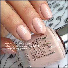 OPI You're Blushing Again – Infinite Shine Summer 2015