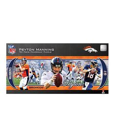 Look what I found on #zulily! Peyton Manning Panoramic Puzzle #zulilyfinds