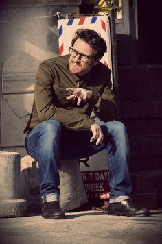 James McAvoy lookin' nerdy