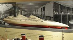 streamlined ship