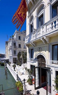 Venice, Italy... This is where we stayed the first time we went. Boutique hotel. Very high end. Rooms were gorgeous!