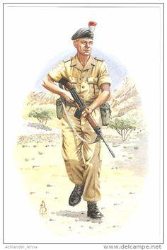 British; Royal Northumberland Fusiliers, 1st Battalion, Sergeant, Aden, 1967