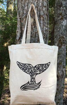 canvas handbag Tree of Life Whale artistic large TOTE bag beach bag fashion tote bag grocery bag,Back to school tote ladies handbag