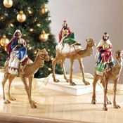 3 Wise Men Christmas Nativity Religious Holiday Figurines