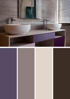 HOME & GARDEN: 40 combinaisons de couleurs pour décorer chez soi