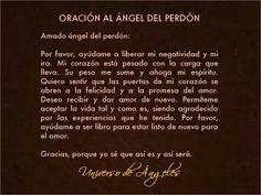 Oración al ángel del perdón para el amor.   #UniversoDeAngeles