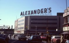Fordham Road, the Bronx, March, 1977.