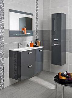 id aux dans un studio ce meuble vasque et cette demi colonne permettent d optimiser l espace de. Black Bedroom Furniture Sets. Home Design Ideas