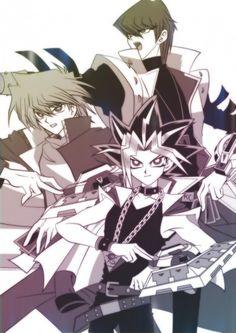 Kaiba, Joey, and Yami