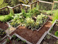 hillside vegetable garden planning   Creating Perfect Garden Designs to Beautify Backyard Landscaping Ideas