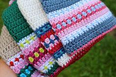 CROCHET pattern Nordic Hat Pdf crochet pattern by MyRoseValley
