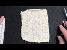 11d1e8041b8a (163) Short Rows in Garter or Seed St Border - YouTube Knitting Videos