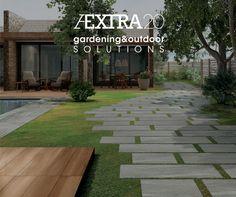 #tiles for outdoor. Gardening & Outdoor solutions http://www.caesar.it/caesartech/aextra20.jsp