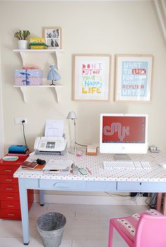 Amano Design Office Small Office Space The home office Home Office Design, Home Office Decor, Home Decor, My New Room, My Room, Small Space Office, Decoration, Bedroom Decor, Teen Bedroom