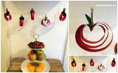 Äpfel basteln