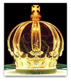 Coroa do Império do Brasil ( The Imperial Crown of Brazil) , também   conhecida como Coroa de D. Pedro II foi fabricada para uso do imperador em 1831, substituindo a de D.Pedro I e fez parte do antigo Brasão de armas do Brasil até 1889. Atualmente faz parte do acervo do Museu Imperial de Petrópolis. Feita pelo ourives Carlos Martin no Rio de Janeiro em 1831, é toda em ouro, com 639 gemas e 77 pérolas.