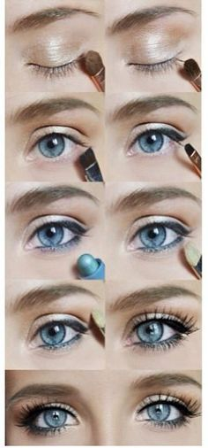 12 Pretty and Easy Ideas For Prom Makeup For Blue Eyes   Gurl.com