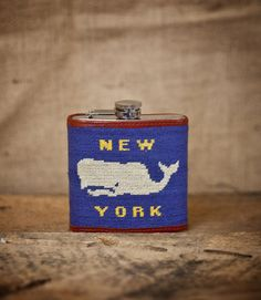 CXXVI Clothing Co. — Whale Flask
