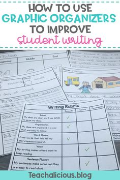 Young writers in kindergarten and first grade benefit from the use of writing graphic organizers to help them learn the writing process. Making it easier for teachers to introduce and manage writers workshop. The student friendly rubric makes it easy to give feedback to students on their writing.