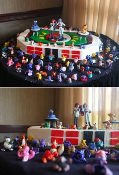 pokemon...wedding...cake...I know which one of my boys would pick this! ;-)