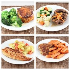 My favorite #Whole30 and #LowCarb meals.