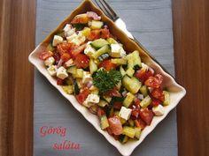 Fruit Salad, Pasta Salad, Feta, Ethnic Recipes, Crab Pasta Salad, Fruit Salads