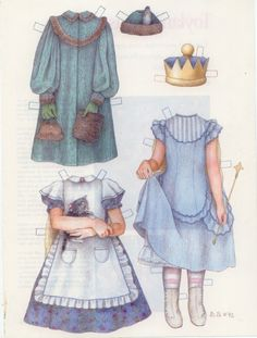 Alice in Wonderland.  This site has  lots of celebs and storybook characters.