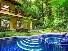 Mediterranean Toucan Villa - perfect for families! Quepos, Blue Morpho, Swimming Holes, Pool Cleaning, Through The Window, Close To Home, Private Pool, Jacuzzi, Great Places