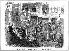Cholera epidemic spreads to Boston in 1848....