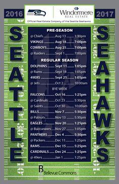 1000+ ideas about Seahawks Schedule on Pinterest | Seattle Seahawks ...