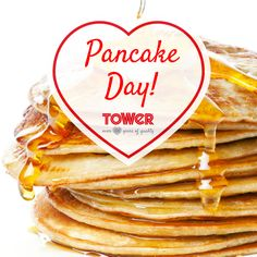 Whether your pancake skills are a flip or a flop, there's plenty of inspiration on the Tower Housewares Pinterest board to get you through! Use Tower Cerasure Ceramic Frying pans for perfect pancakes every time. http://www.towerhousewares.co.uk/cookware-ovenware-c87/frying-pans-c98