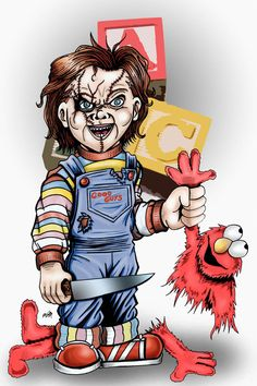Chucky by kevinemeinert