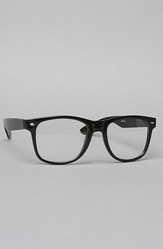 eabd58cdcc  karmaloop  Accessories Boutique The Teacher Glasses in Black and Clear    Save 20%