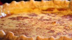 Eggnog Custard Pie recipe via Food Network ~ OMGoodness! An eggnog custard pie? Eggnog Pie, Eggnog Recipe, Custard Recipes, Pie Recipes, Custard Pies, Recipe Sites, Pastry Recipes, Sweet Recipes, Sweets