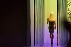 Donatella Versace - Atelier Versace Haute Couture FW 2012/13 - Behind The Scenes #AtelierVersace #Versace #HauteCouture #PFW