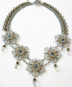 Celestial Blossom Necklace by Cielo Design, via Flickr