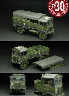 World War II British Army ETA-026 British AEC Matador Artillery Tractor set - Made by Figarti Military Miniatures and Models. Factory made, hand assembled, painted and boxed in a padded decorative box. Excellent gift for the enthusiast.
