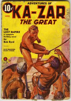 Pulps:Miscellaneous, Ka-Zar #1-3 Group (Red Circle, 1936-37).... (Total: 3 Comic Books) Image #3