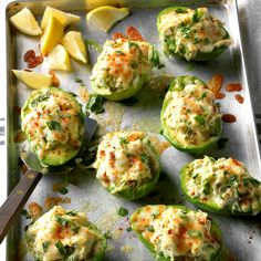 Our favorite creamy, green fruit isn't just for guacamole anymore. Try our favorite avocado recipes for breakfast, lunch, dinner (and a midnight snack). Crab Recipes, Avocado Recipes, Low Carb Recipes, Dinner Recipes, Cooking Recipes, Dinner Ideas, Lunch Ideas, Recipies, Avocado Dessert
